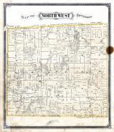 Northwest Township, Nettle Lake, Columbia, Williams County 1874