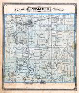 Springfield township, Stryker, Owl Creek, Tiffin river, Evansport, Williams County 1874
