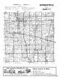Springfield township, Stryker, Owl Creek, Tiffin river, Evansport T6N-R4E, Williams County 1978