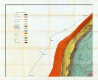 Sheet 002 - Explanation of Colors - Morrison's Cove, Blair - Bedford - Huntingdon Counties 1878c Second Geological Survey - Section T