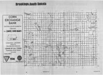 Index Map, Brookings County 1989