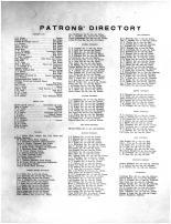 Patrons Directory, Brown County 1905