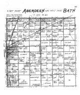 Aberdeen Township East, Bath Township West, Brown County 1905