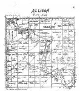 Allison Township, Brown County 1905