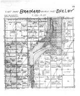 Brainard Township East, Shelby Township West, Brown County 1905