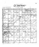 Claremont Township East, Huffton, Brown County 1905