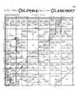 Columbia Township East, Claremont Township West, Brown County 1905