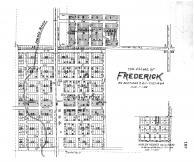 Frederick Village, Harlem Heights, Brown County 1905