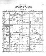 Garden Prairie Township West, Brown County 1905