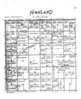 Highland Township, Brown County 1905