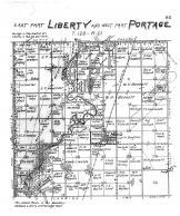 Liberty Township East, Portage Township West, Hecla, Brown County 1905