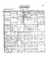 Ordway Township, Brown County 1905