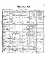 Richland Township, Brown County 1905