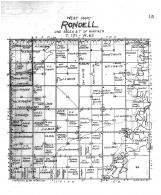 Rondell Township West, Brown County 1905
