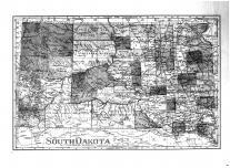 South Dakota State Map, Brown County 1905