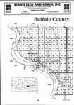 Buffalo County Index Map 001, Brule and Buffalo Counties 1999