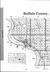 Buffalo County Index Map 1, Brule and Buffalo Counties 2000