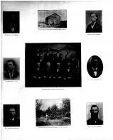 Russell, Myrons Old Log Cabin, Rowley, Montague, Thompson-Lewis, Gunderson, Nelson, Wight, Orchard Scene