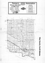 Index Map, Clay County 1986