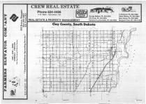 Index Map, Clay County 1987