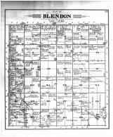 Blendon Township, Victor PO, Davison County 1901