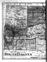 South Dakota State Map - Left, Davison County 1901