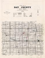 Day County Highway Map, Day County 1963