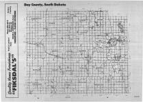 Index Map, Day County 1989