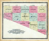 Douglas County Outline Map, Douglas County 1909 - 1910