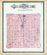 Grandview Township, Simpson Lake, Corsica, Douglas County 1909 - 1910