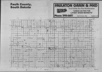 Index Map, Faulk County 1988