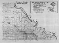 Index Map, Gregory County 1989