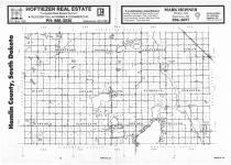 Index Map, Hamlin County 1987