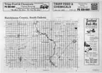 Index Map, Hutchinson County 1989