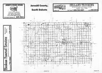 Index Map, Jerauld County 1986