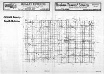 Index Map, Jerauld County 1987