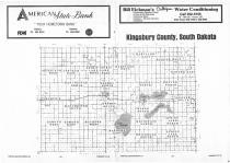 Index Map, Kingsbury County 1987