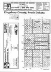 Index Map 2, Kingsbury County 1998