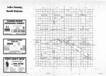 Index Map, Lake County 1987