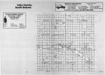 Index Map, Lake County 1989