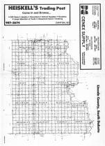 Index Map, Lincoln County 1986