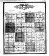McCook County Outline Map, McCook County 1911