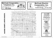 Index Map, McCook County 1986