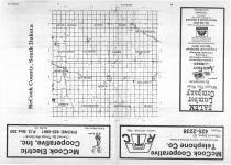 Index Map, McCook County 1987