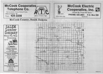 Index Map, McCook County 1989