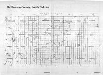Index Map, McPherson County 1987
