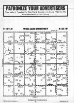 Wall Lake T101N-R51W, Minnehaha County 1986