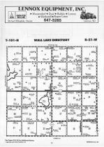 Wall Lake T101N-R51W, Minnehaha County 1989