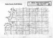 Index Map, Potter County 1986