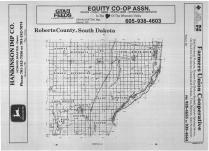 Index Map 1, Roberts County 1989